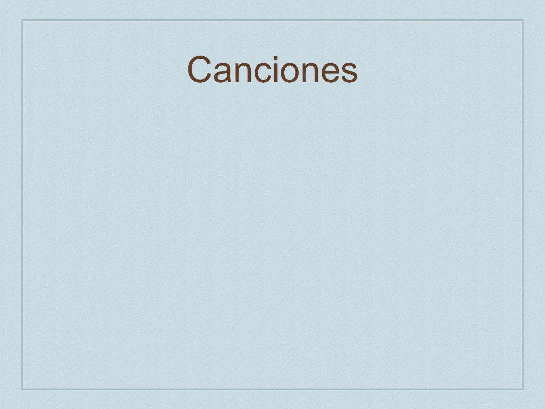 Canciones