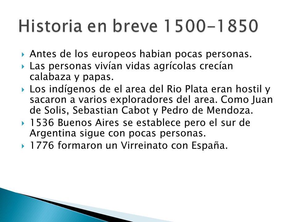 En 1806 Gran Britania captura a Buenos Aires por un tiempito.