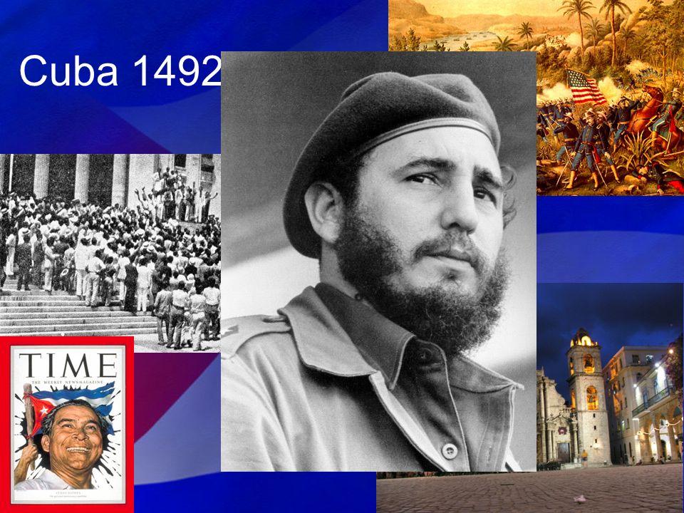 En 1886 empezó el Grito de Baire y Máximo Gomez, Antonio Maceo y Jose Martí empezaron el rebelión y la Guerra de la Independencia.