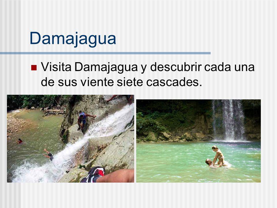 Damajagua Visita Damajagua y descubrir cada una de sus viente siete cascades.
