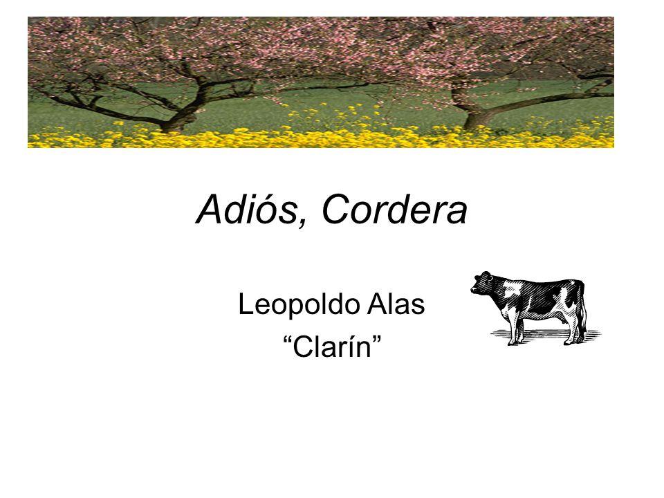 Adiós, Cordera Leopoldo Alas Clarín