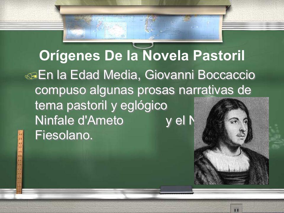 En la Edad Media, Giovanni Boccaccio compuso algunas prosas narrativas de tema pastoril y eglógico como el Ninfale d'Ameto y el Ninfale Fiesolano. Orí