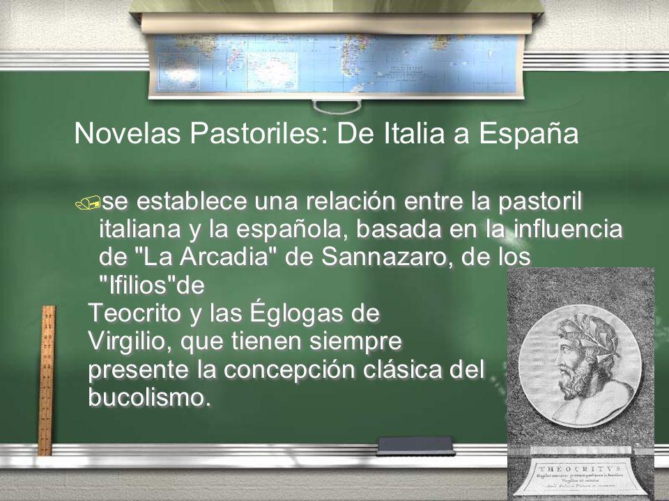 se establece una relación entre la pastoril italiana y la española, basada en la influencia de