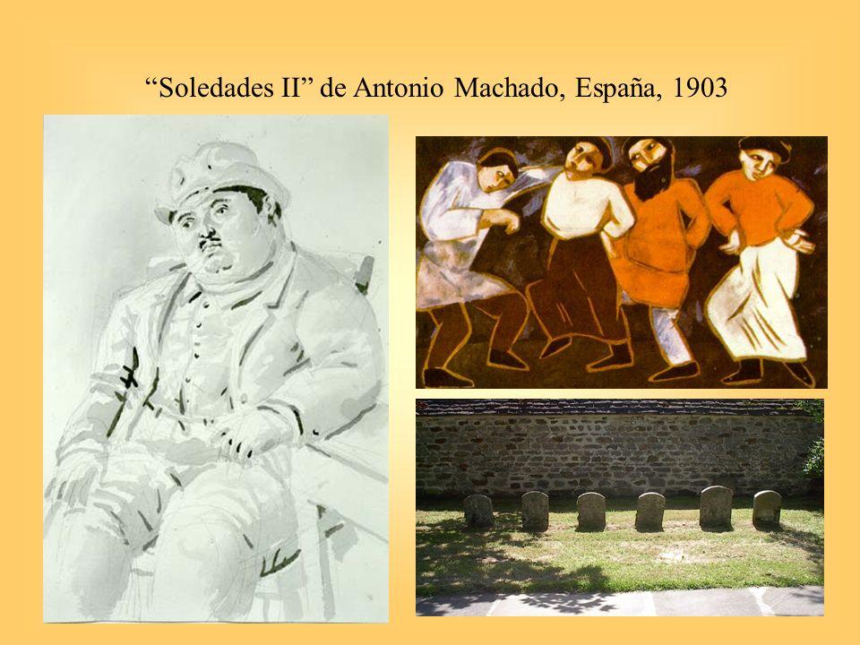 29 Soledades II de Antonio Machado, España, 1903