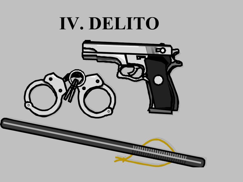 IV. DELITO