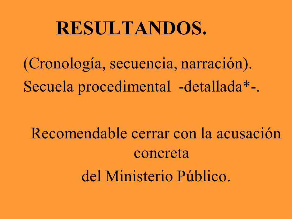 6.2.3.CIRCUNSTANCIAS DE TIEMPO, MODO, LUGAR Y OCASIÓN DEL HECHO.