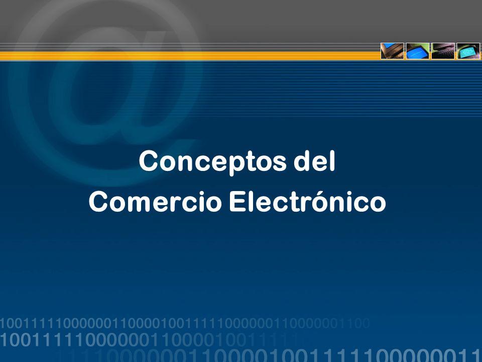Conceptos del Comercio Electrónico