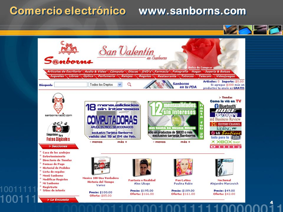 105 Interés (interest) http://www.centrogalerias.com.mx/principal.htm http://www.costco.com.mx