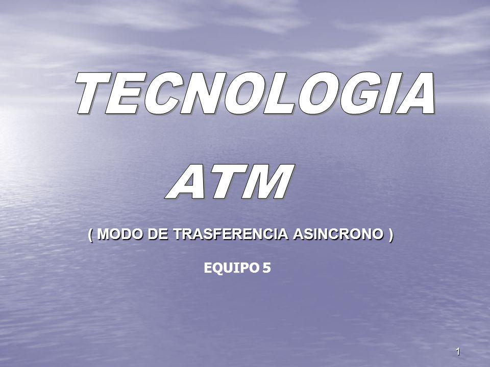 1 ( MODO DE TRASFERENCIA ASINCRONO ) EQUIPO 5