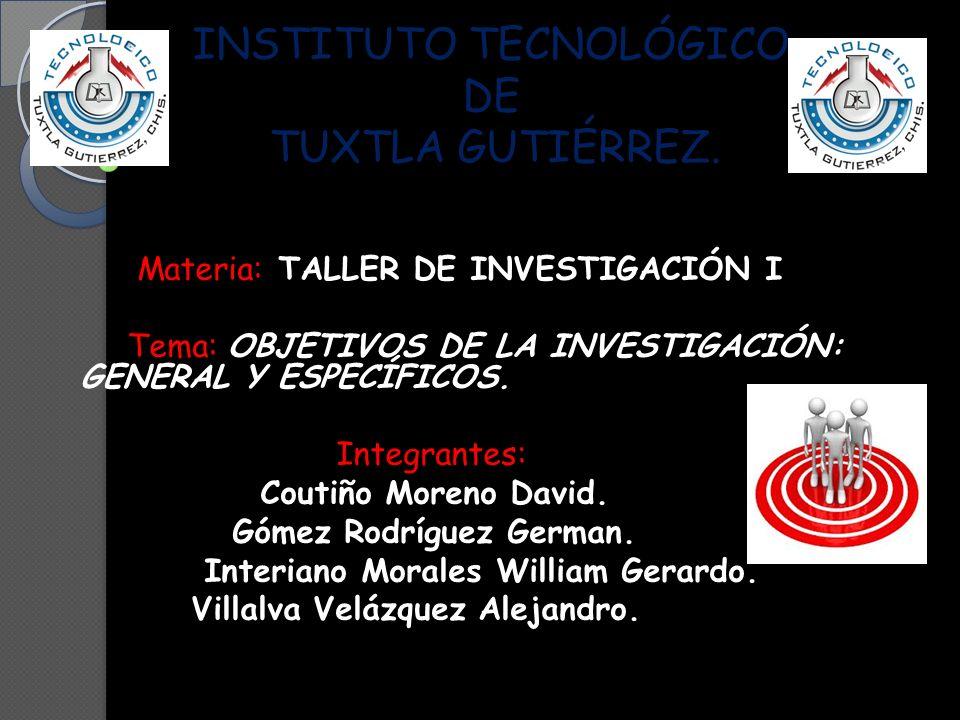 INSTITUTO TECNOLÓGICO DE TUXTLA GUTIÉRREZ.INSTITUTO TECNOLÓGICO DE TUXTLA GUTIÉRREZ.