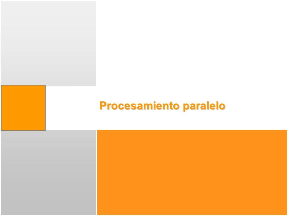 Multiprocesamiento asimétrico Relación maestro/esclavo: El maestro gestiona la planificación, interrupciones,...