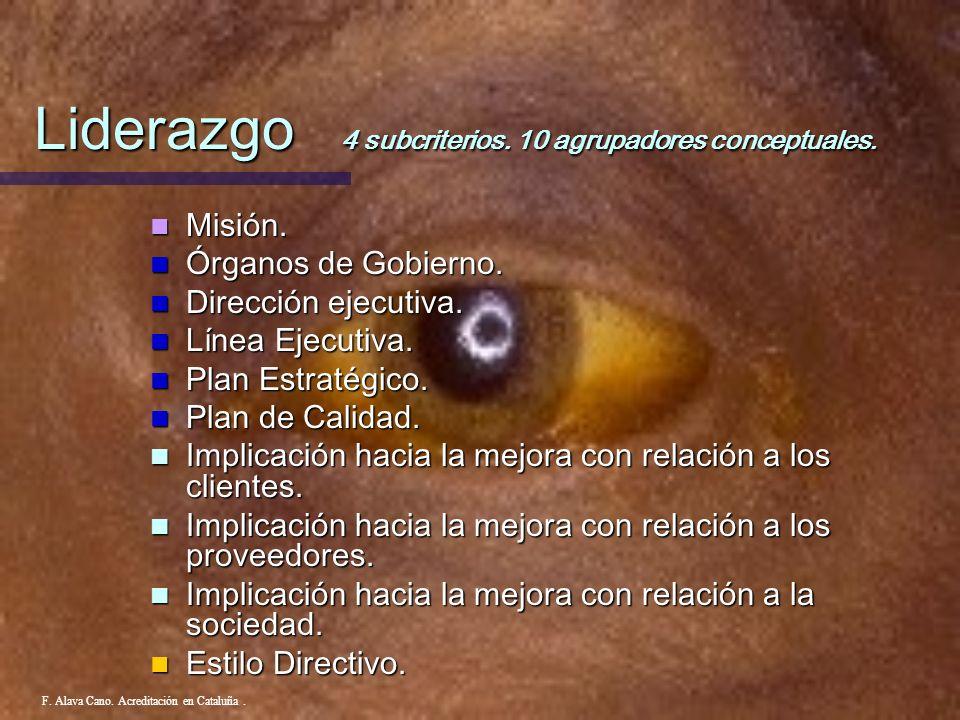 1. Liderazgo F. Alava Cano. Acreditación en Cataluña.