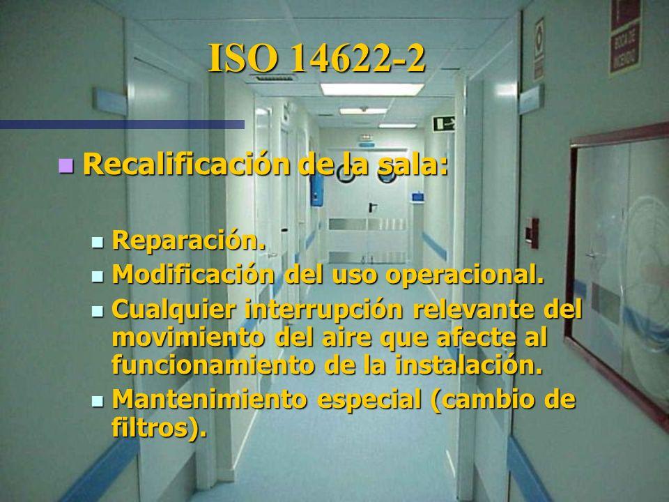 Parámetro de prueba Intervalo de tiempo Velocidad y caudal 12 meses Presión diferencial 12 meses ISO 14622-2 Prueba adicional i opcional Parámetro de