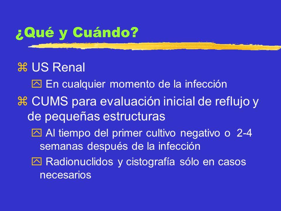 Reflujo Vesicoureteral z Condición congénita donde el mecanismo normal de válvula de la unión ureterovesical es incompetente z Es el mayor factor de riesgo de pielonefritis, daño parenquimatoso, y daño crónico