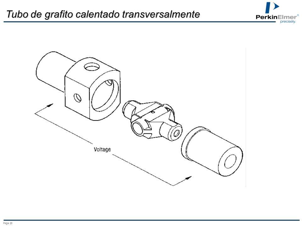 Page 28 Tubo de grafito calentado transversalmente