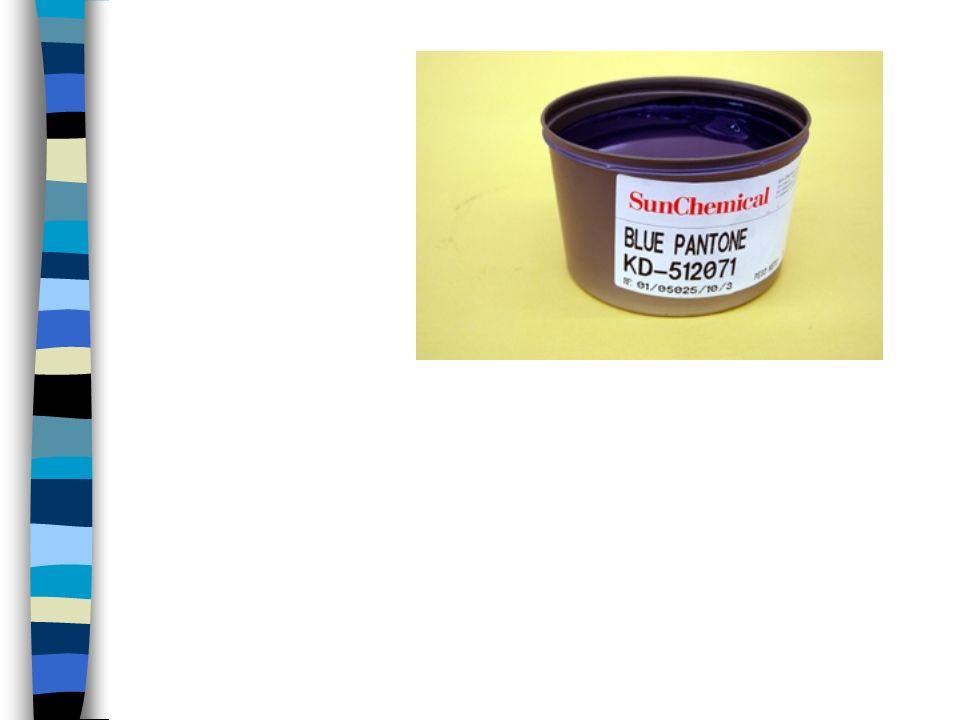 Cat á logo Pantone Son tiras de papel-cartón de determinado gramaje y textura (coated, uncoated) con la impresión de una muestra de color, su nombre y fórmulas para obtenerlo.