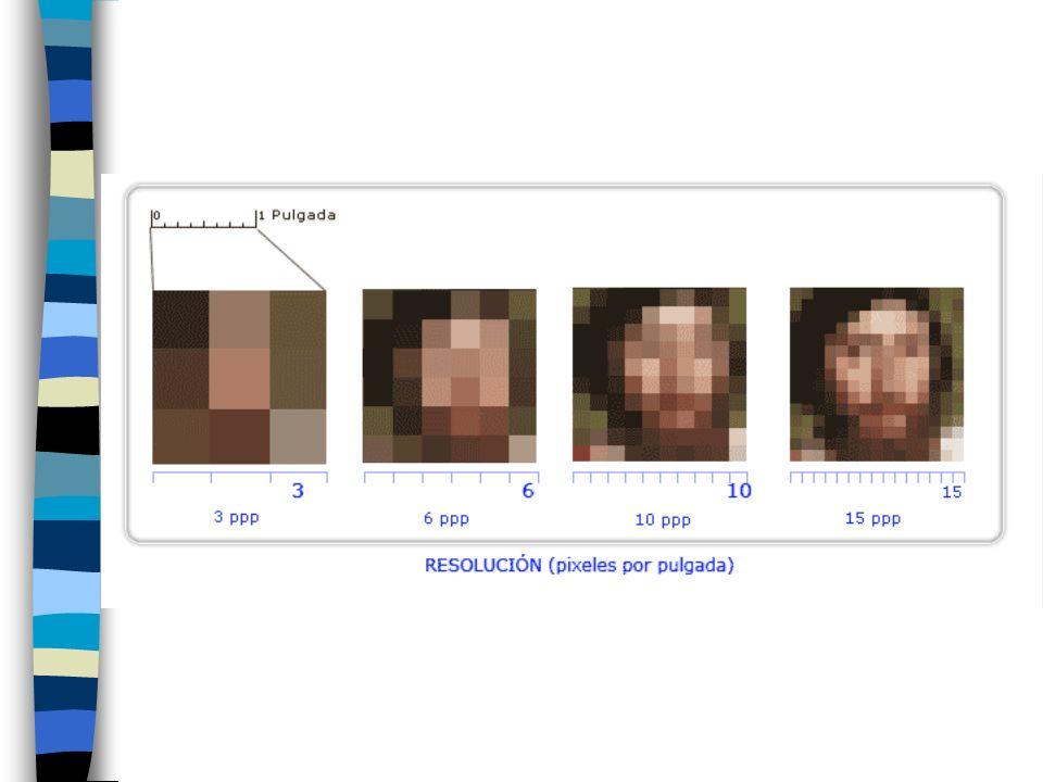 Cuando imprimimos una imagen, una resolución mayor equivale a una imagen más nítida.