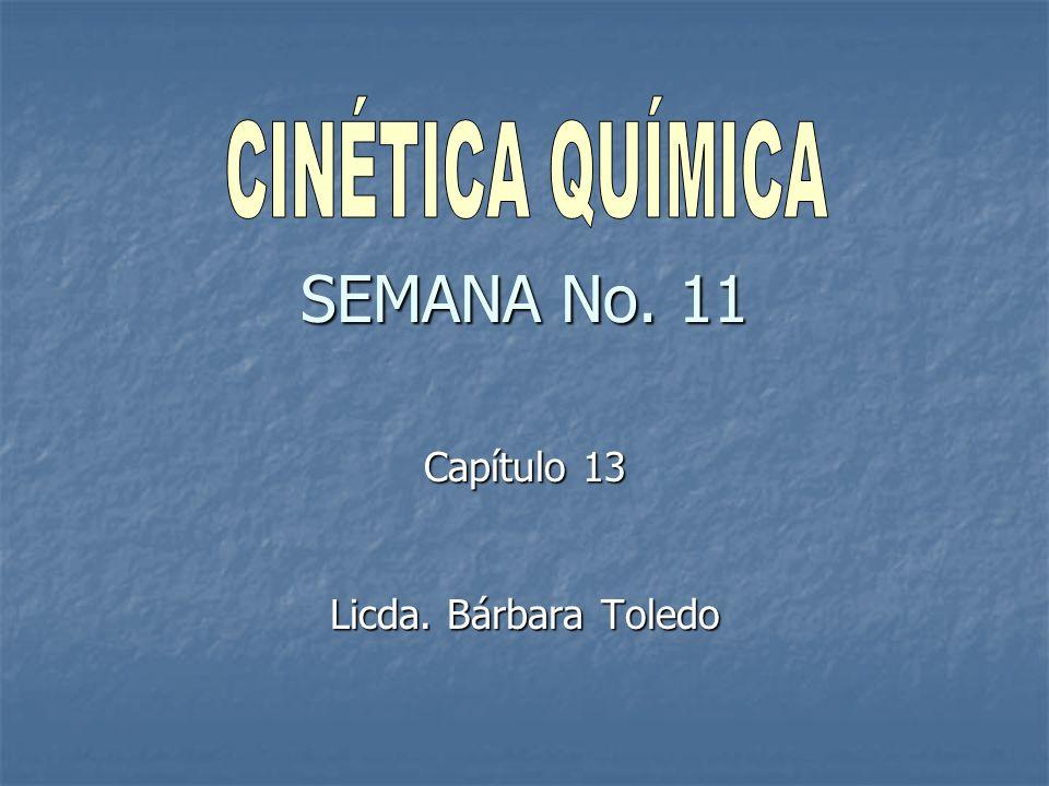 SEMANA No. 11 Capítulo 13 Licda. Bárbara Toledo