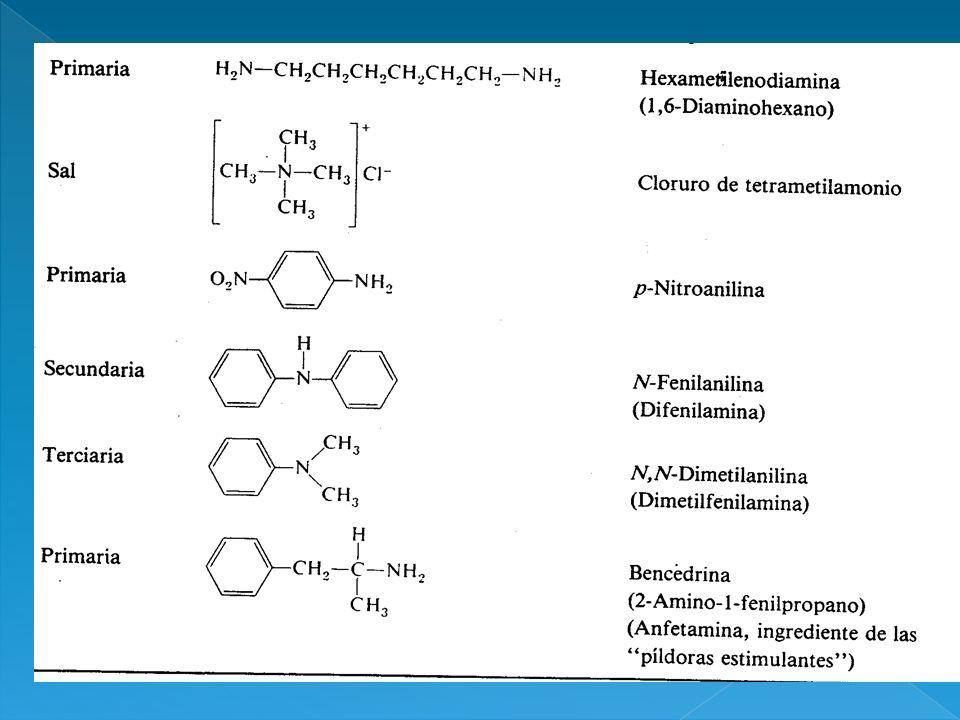 Son compuestos incoloros que se oxidan con facilidad.