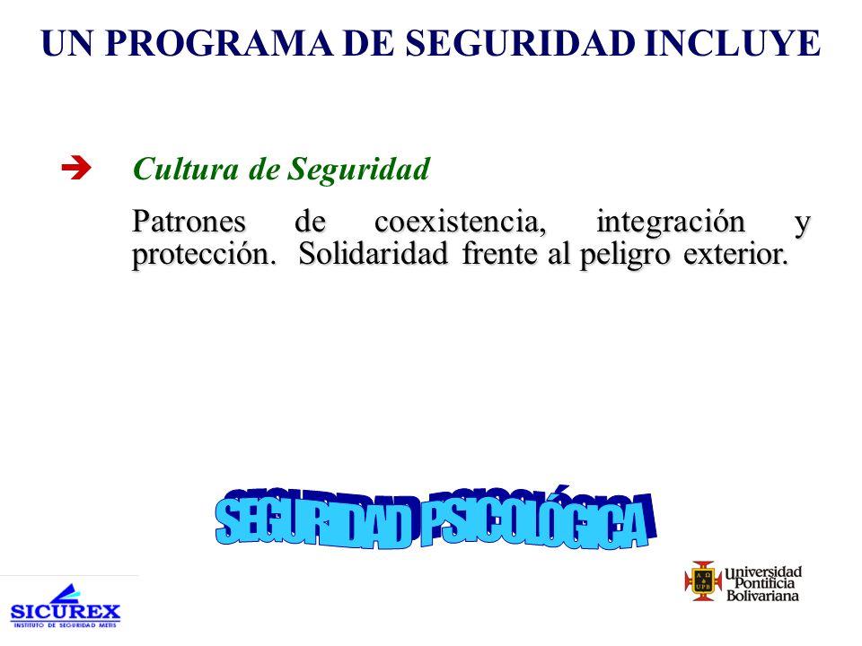 èPolíticas y Procedimientos Define los objetivos y alcances de la seguridad y los procesos para lograrlas.