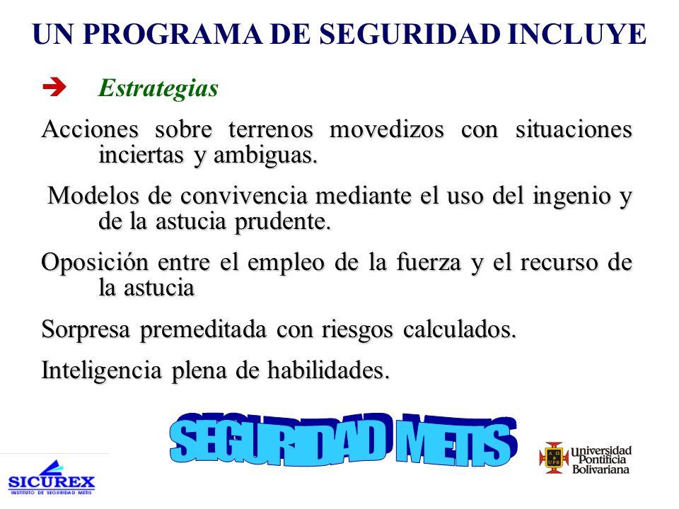 èCultura de Seguridad Patrones de coexistencia, integración y protección.