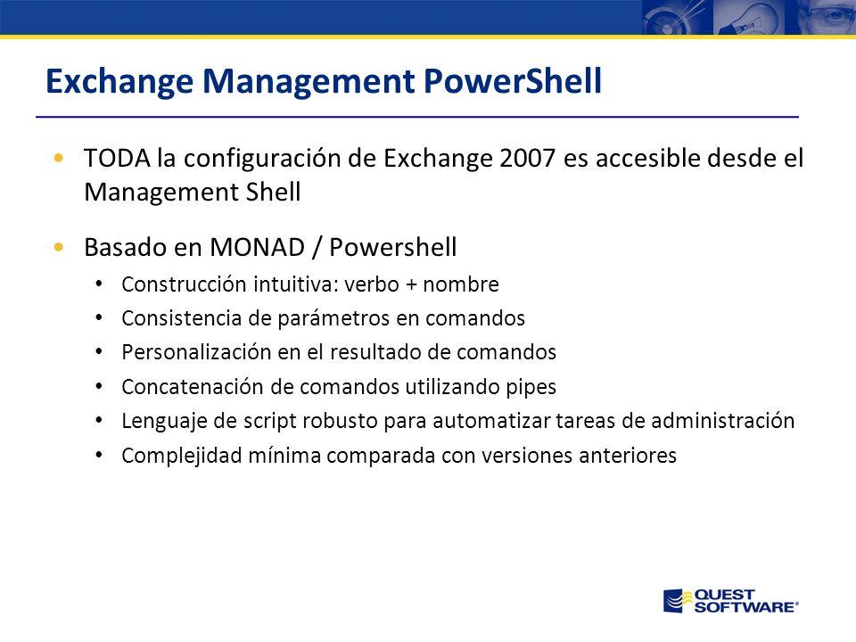 AutoConnect Antes de Outlook 2007: Configuración manual Nombre de mi servidor Exchange, validación, etc. Creación manual del RPC sobre HTTP Reconfigur