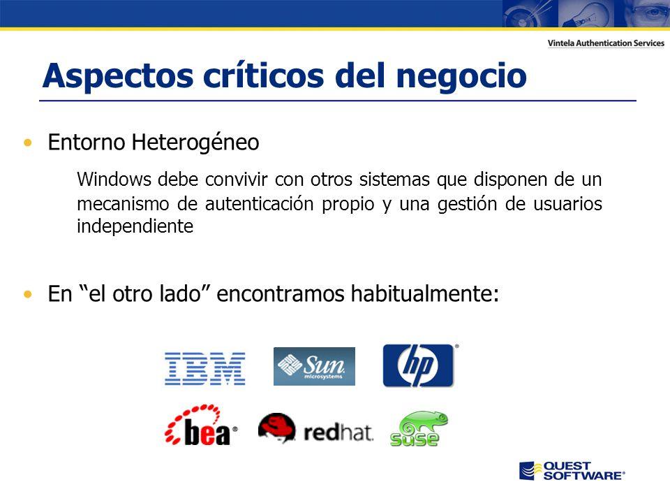 Copyright © 2007 Quest Software Integración de acceso, autenticación y autorización para sistemas Unix/Linux