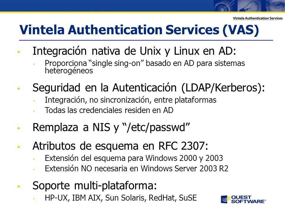 Entorno Heterogéneo Windows debe convivir con otros sistemas que disponen de un mecanismo de autenticación propio y una gestión de usuarios independiente En el otro lado encontramos habitualmente: Aspectos críticos del negocio