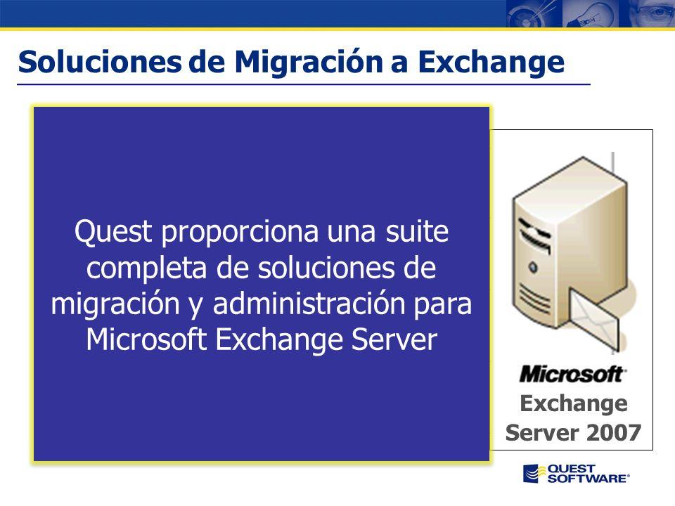 Copyright © 2007 Quest Software Soluciones para la Gestión de M ICROSOFT E XCHANGE Jose Romero Sales Consultant Jose.romero@quest.com