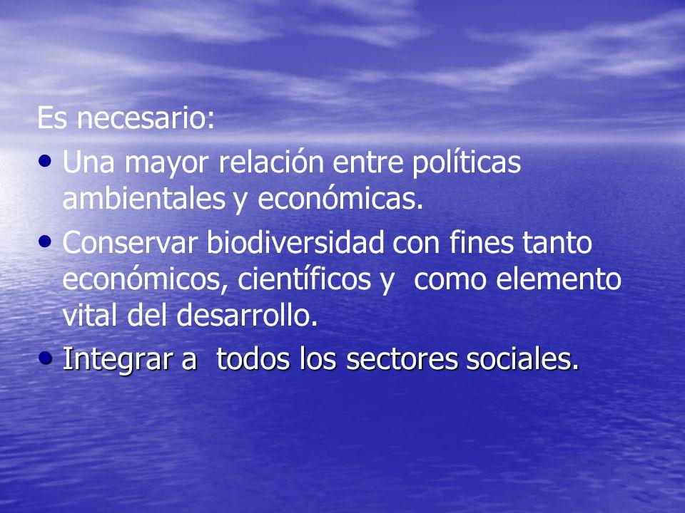 En lo Político Integrar grupos ecológicos dentro de los partidos tradicionales, para que influyan en la elaboración de los programas de gobierno.