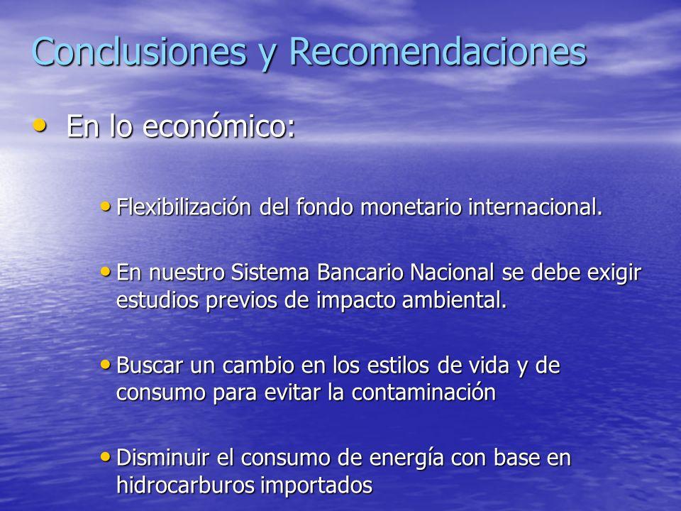 f)Aspectos políticos Nuestros sistemas políticos tradicionales no han incorporado el factor ecológico dentro de su s programas de gobierno y políticas