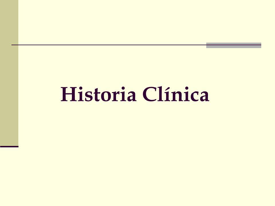 Anamnesis próxima La parte más importante de la Historia clínica Padecimiento actual Integrar antecedentes pertinentes Uso de fechas -Consulto el jueves -Consulto el 12/3