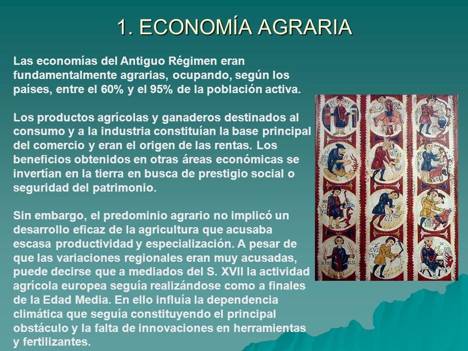 CAMPESINADO Era el grupo más numeroso de la población del Antiguo Régimen.
