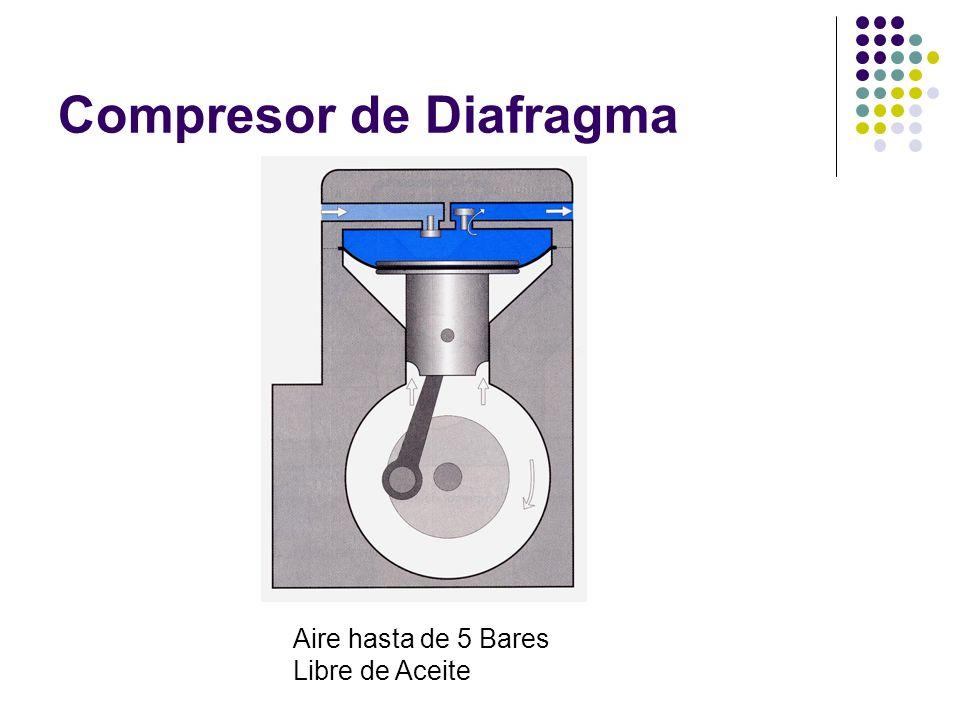 Compresor de Diafragma Aire hasta de 5 Bares Libre de Aceite