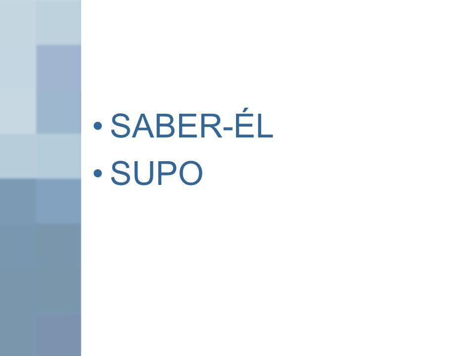 SABER-ÉL SUPO