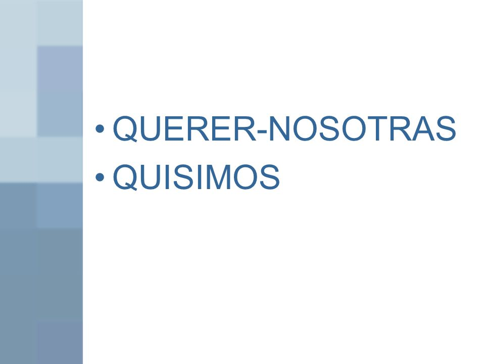 QUERER-NOSOTRAS QUISIMOS