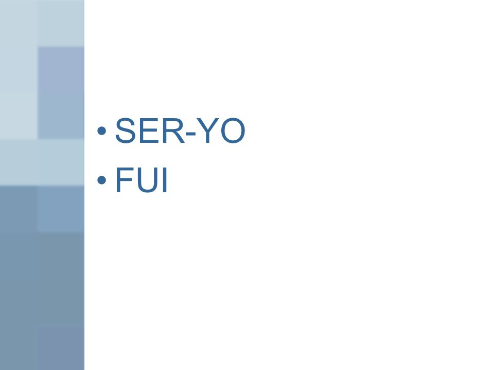 SER-YO FUI