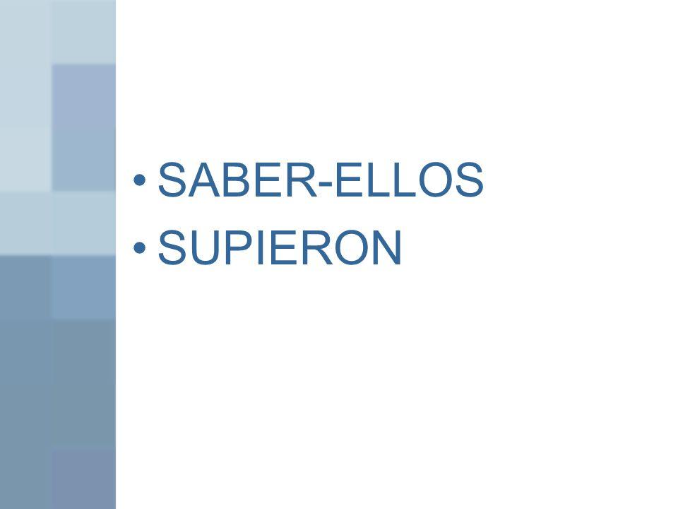 SABER-ELLOS SUPIERON