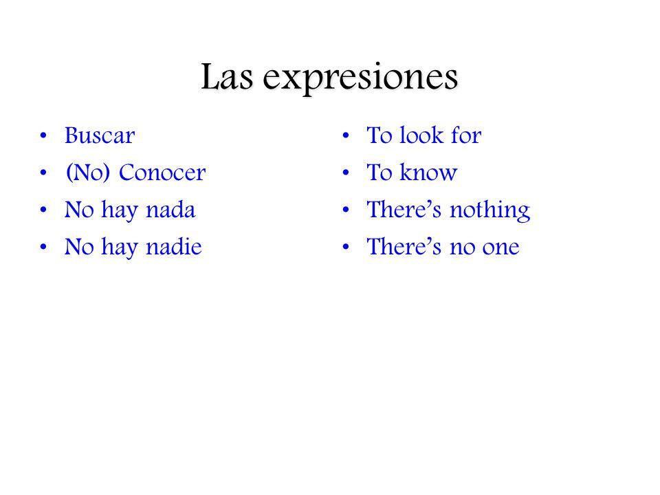 Cuando usamos… 1.Si es posible que la persona o la cosa no existe, usamos subjuntivo.