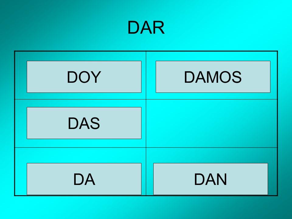 DAR DOY DAS DAMOS DANDA