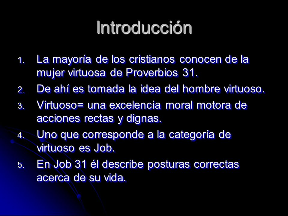 Job 31 Idea original Gene Taylor; Andres Pong High School Road church of Christ 10 22 06