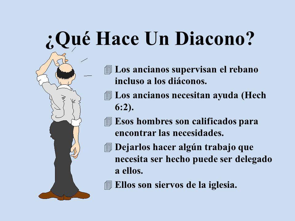 Deber Hacia Los Diáconos Amarlos cf.1 Ped. 4:8 Respetarlos cf.