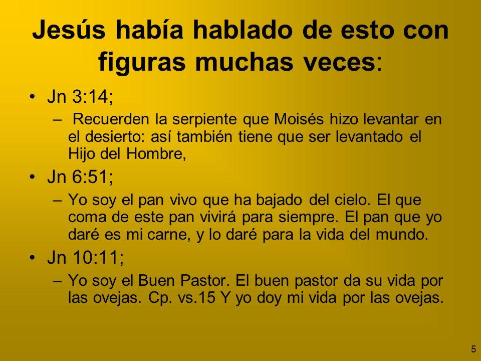 6 Jesús había hablado de esto con figuras muchas veces Mat 9:15; – Jesús les contestó: ¿Quieren ustedes que los compañeros del novio estén de duelo mientras el novio está con ellos.