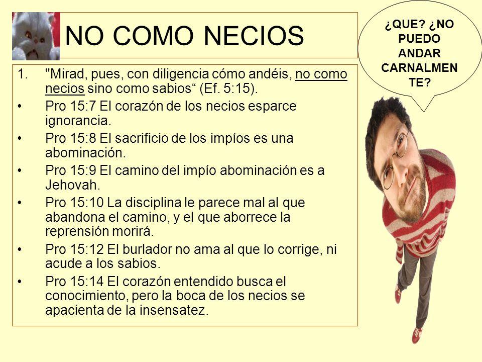NO COMO NECIOS 1.