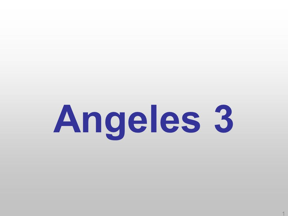1 Angeles 3