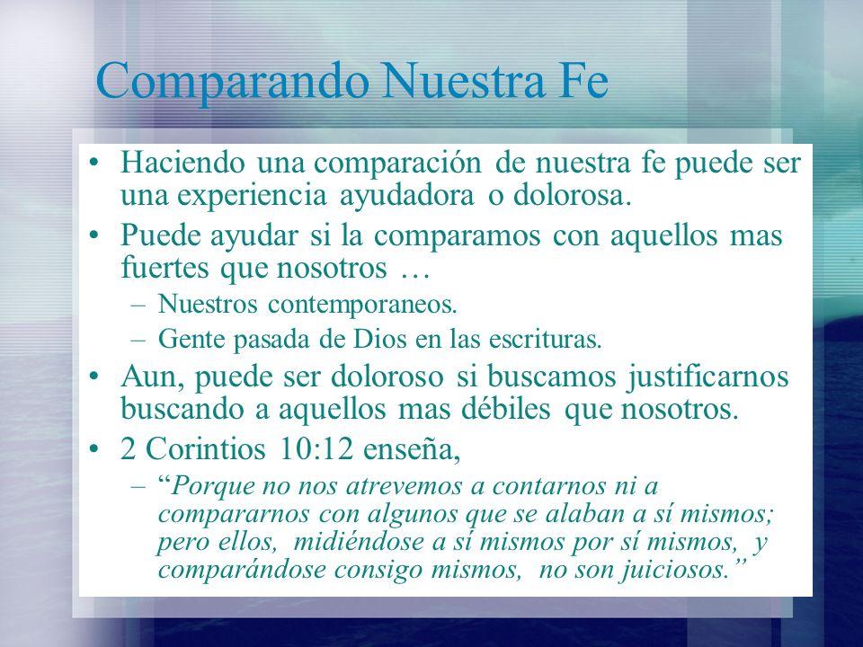 Comparando Nuestra Fe Romanos 4 nos enseña, –diciendo: Bienaventurados aquellos cuyas iniquidades son perdonadas, Y cuyos pecados son cubiertos.