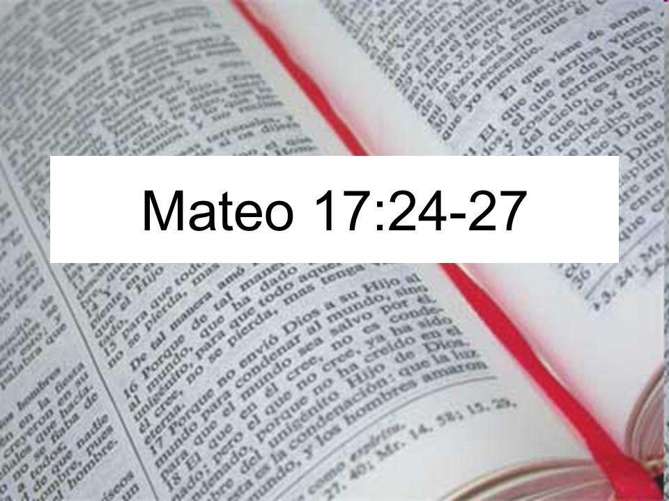 Mateo 17:24-27
