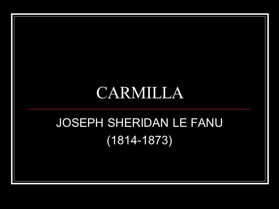 Introducción Tras la muerte de su esposa (murió de una enfermedad mental), Le Fanu se obsesionó con el estudio de los temas parapsicólogicos (conceptos de perversión y desviación), místicos (Swedenborg) y paranormales (fantasmas).