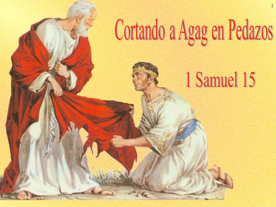 Un evento central en el reinado de Saúl fue su desobediencia al mandamiento de Dios en 1 Sam.