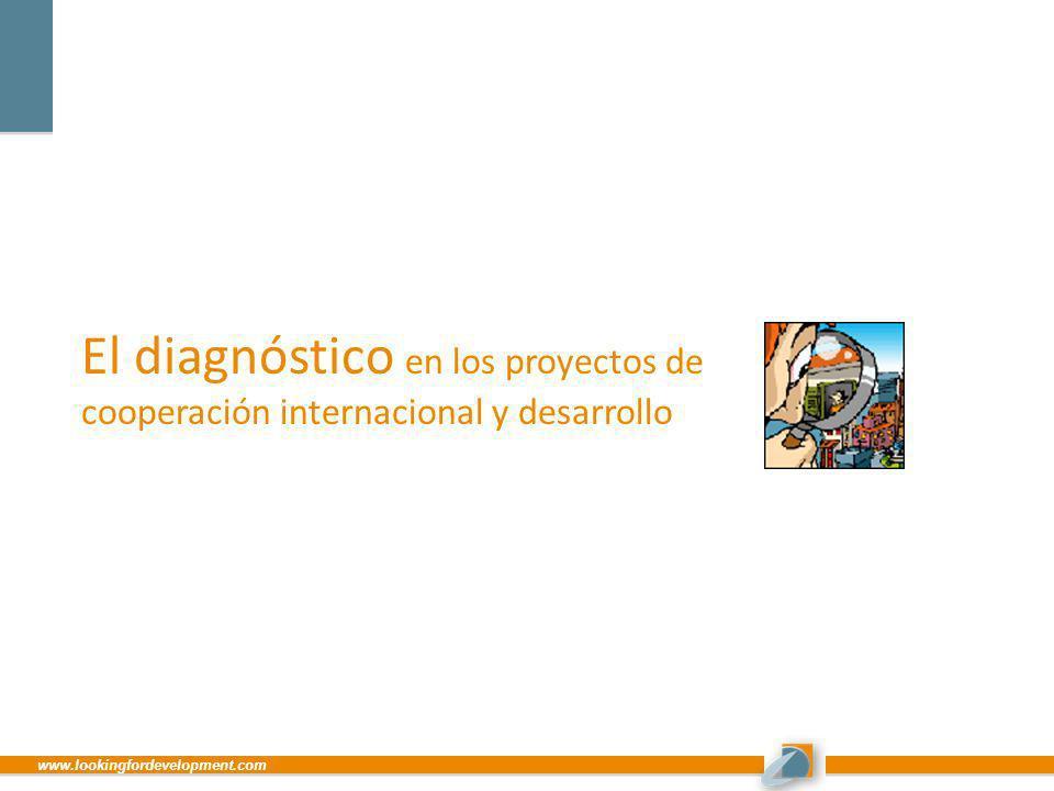 www.lookingfordevelopment.com El diagnóstico en los proyectos de cooperación internacional y desarrollo